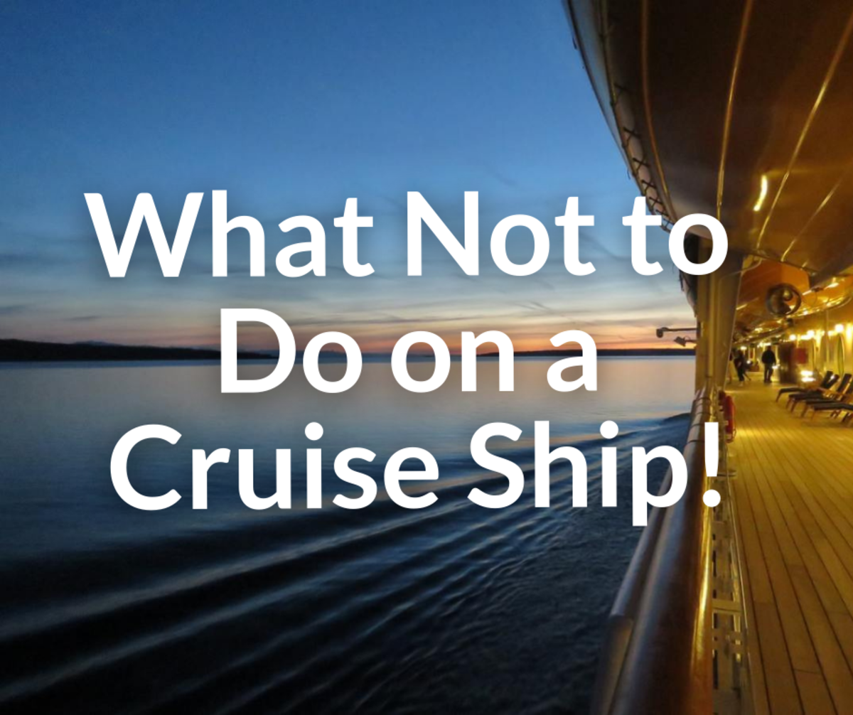 What Not to Do on a Cruise Ship!