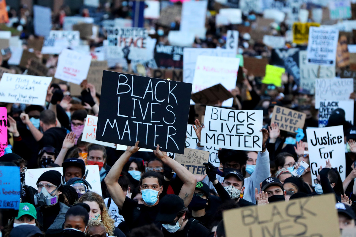 Black Lives Matter Protests in Massachusetts, May 2020