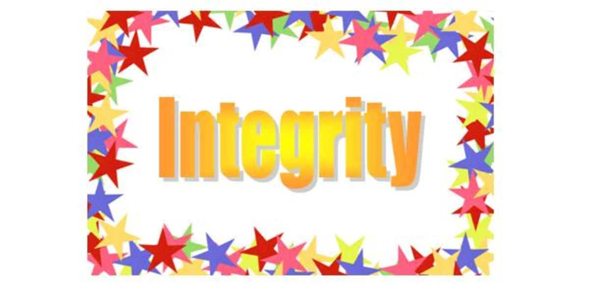 We All Need Integrity