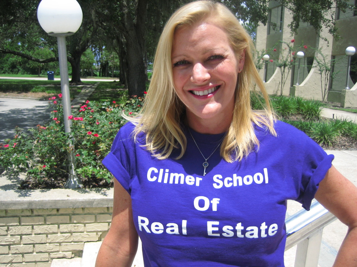 The Florida real estate exam pass fail rate will improve as soon as Charisse passes her Florida real estate exam in Orlando