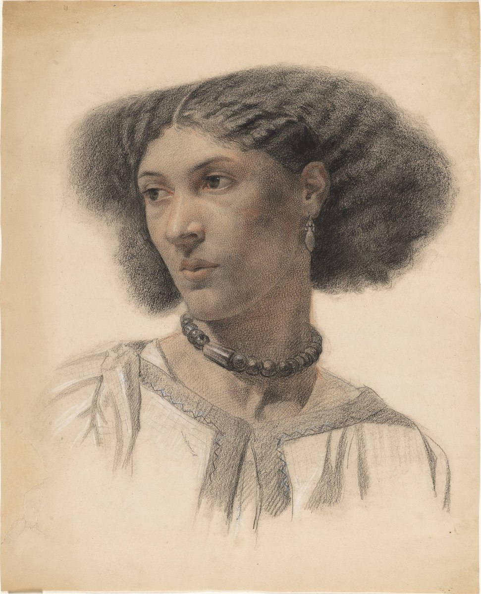 Portrait of Fanny Eaton by Walter Fryer Stocks  circa 1859