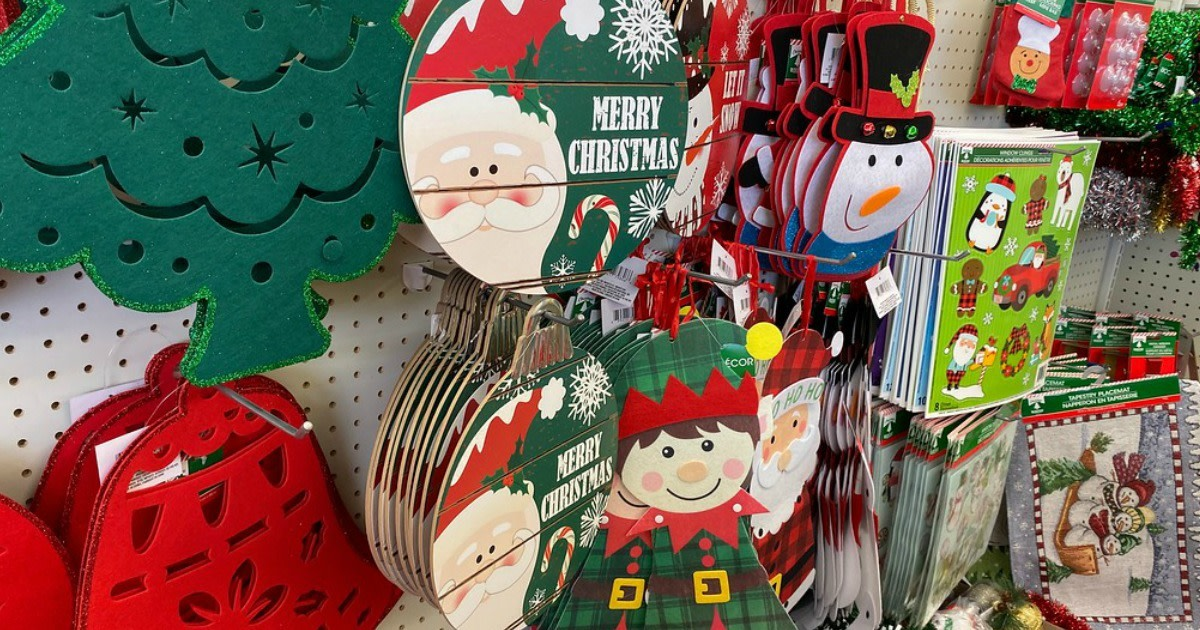 Even if you don't have a lot of money to spend this holiday season, you can get great deals on décor and gifts for the holidays at Dollar Tree.