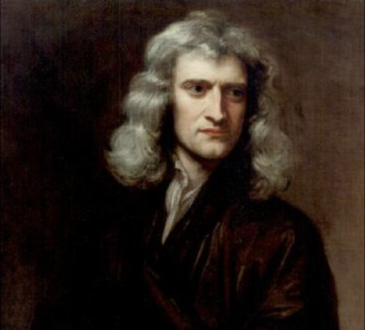 """Let Newton be and all was light"" - Isaac Newton who demonstrated gravitation"