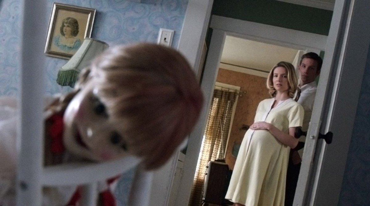 The Annabelle movie was released in the year 2014