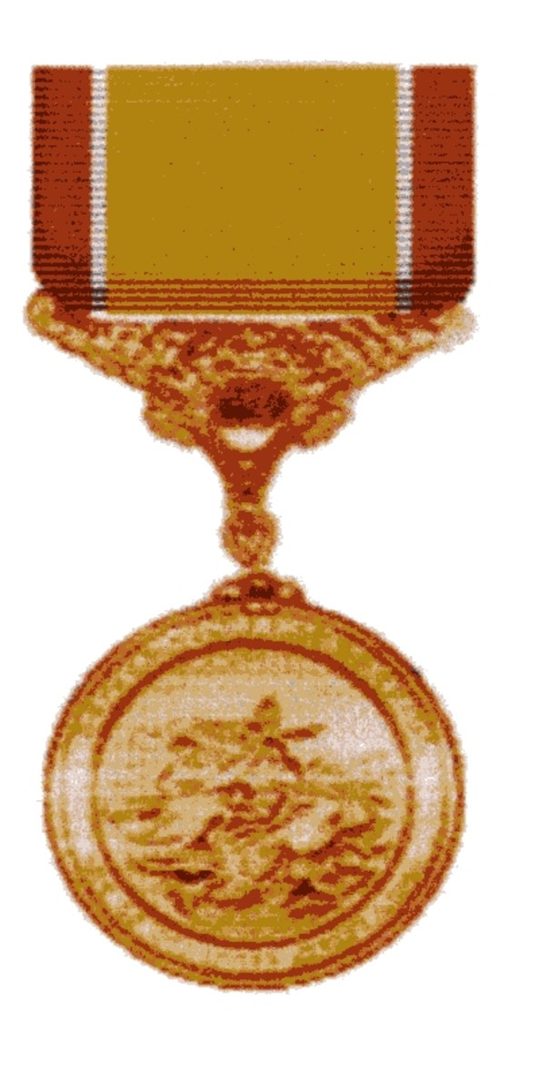 A U.S. Coast Guard Lifesaving Medal like my Grandfather had received