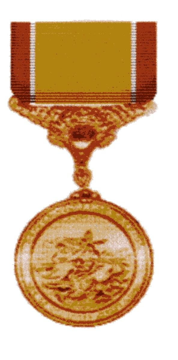 A U.S. Coast Guard Lifesaving Medal like my Grandfather had received