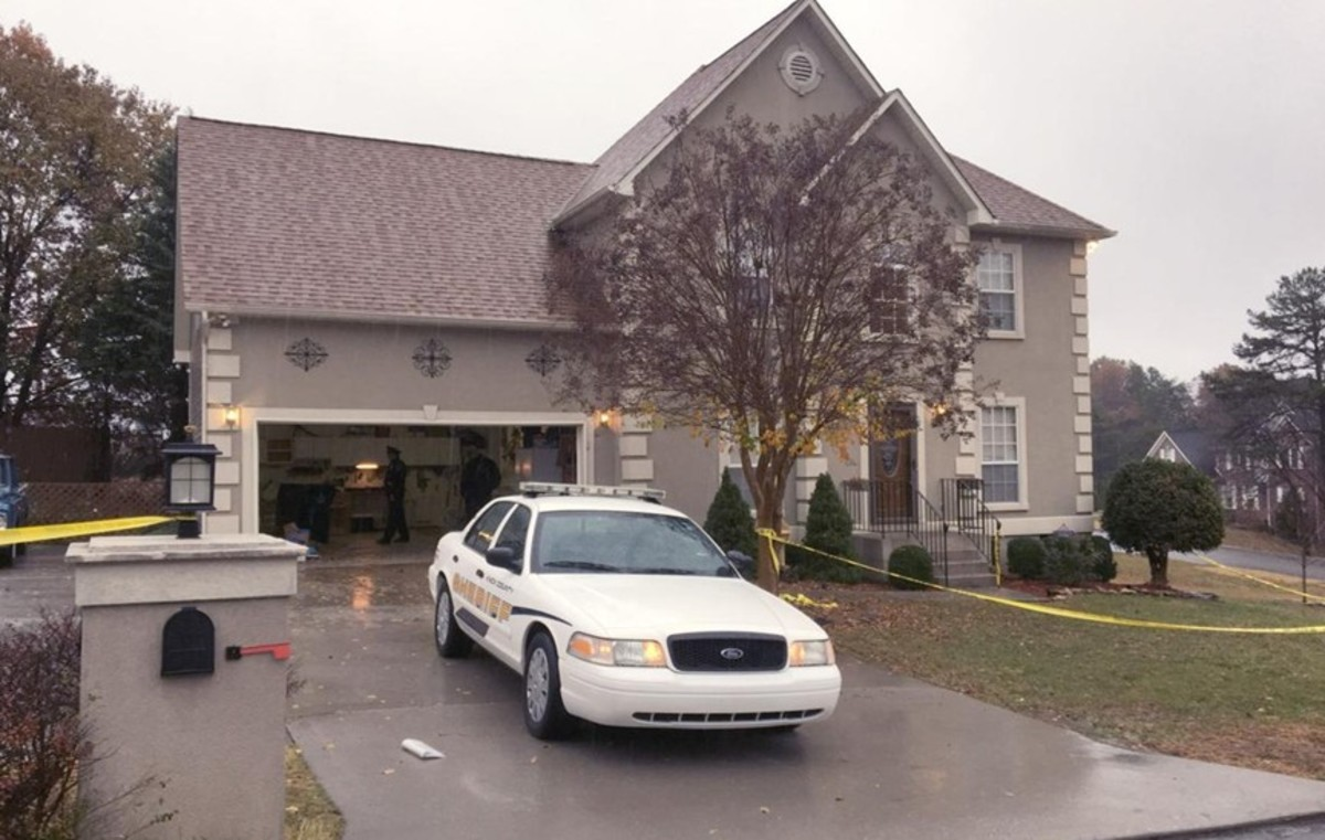 Police responded to 11434 Goldenview Lane in Knoxville, Tennessee, to conduct a welfare check on Joel and Lisa Guy in November 2016. Photo courtesy of the Advocate.