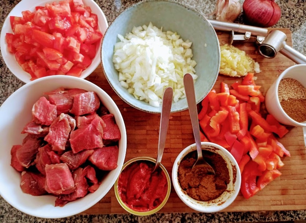Gather ingredients & prep