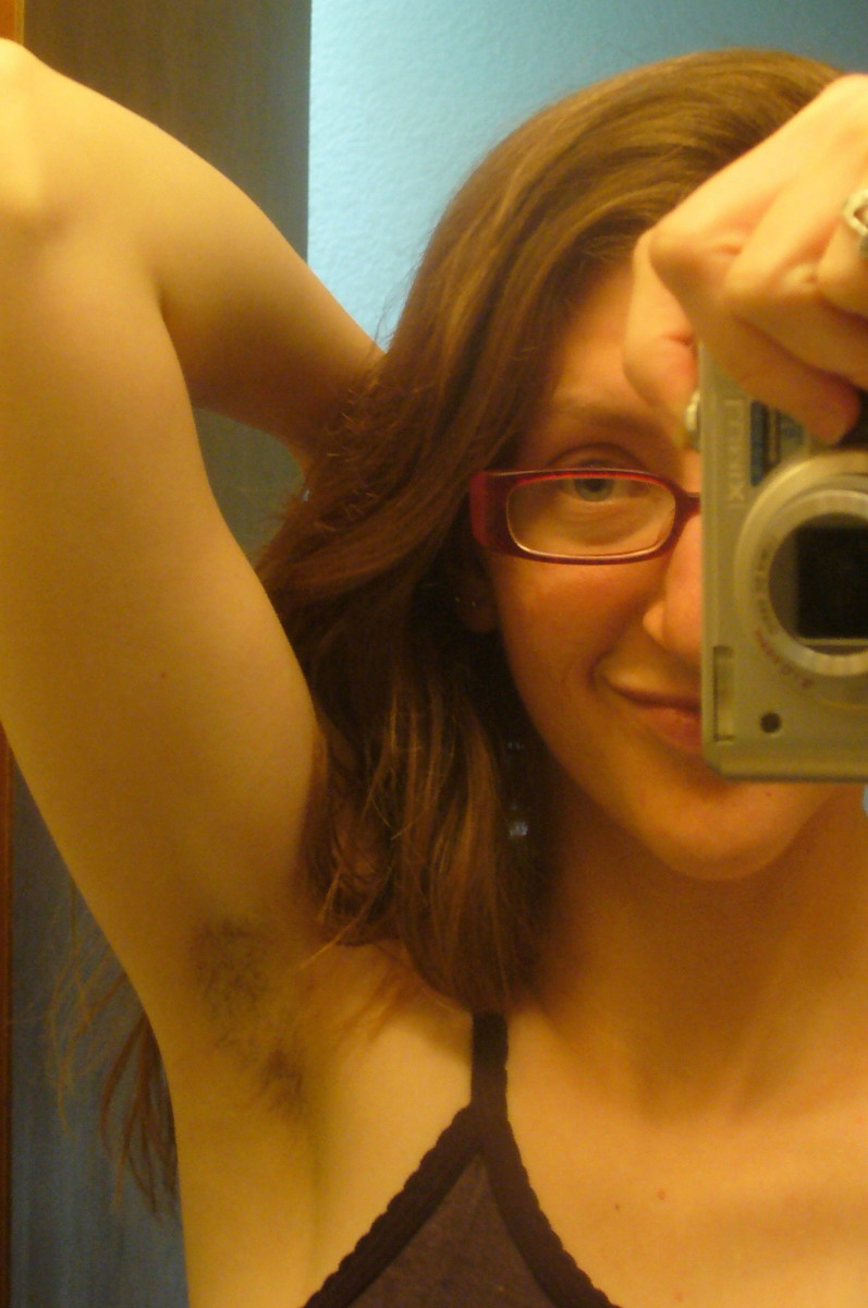 Me and my hairy armpit