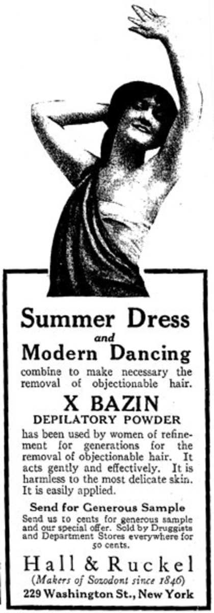 Advertisement from the May 1915 issue of Harper's Bazaar