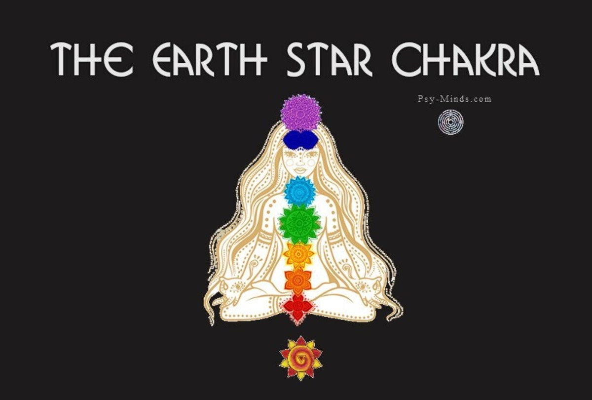 The Earth Star chakra is located below our feet in Mother Earth and is our strongest connection point to Earth and all of humanity.