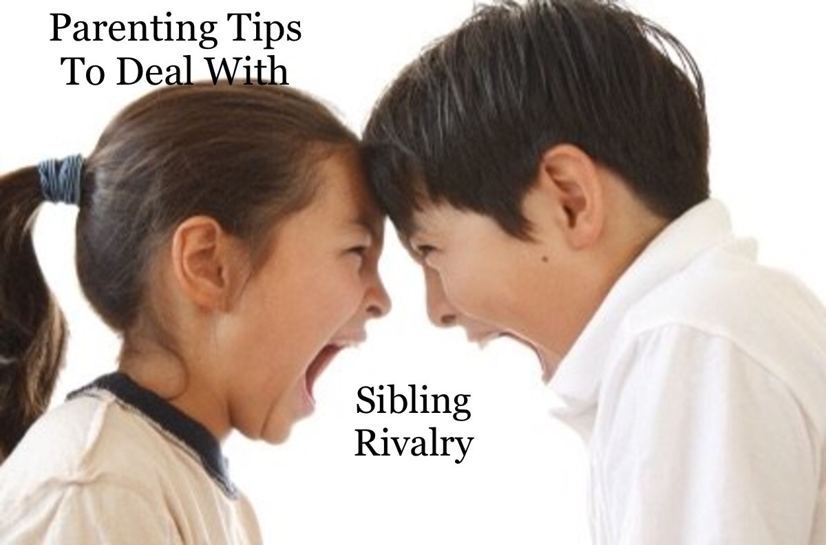 7 Parenting Tips to Deal With Sibling Rivalry in the Children
