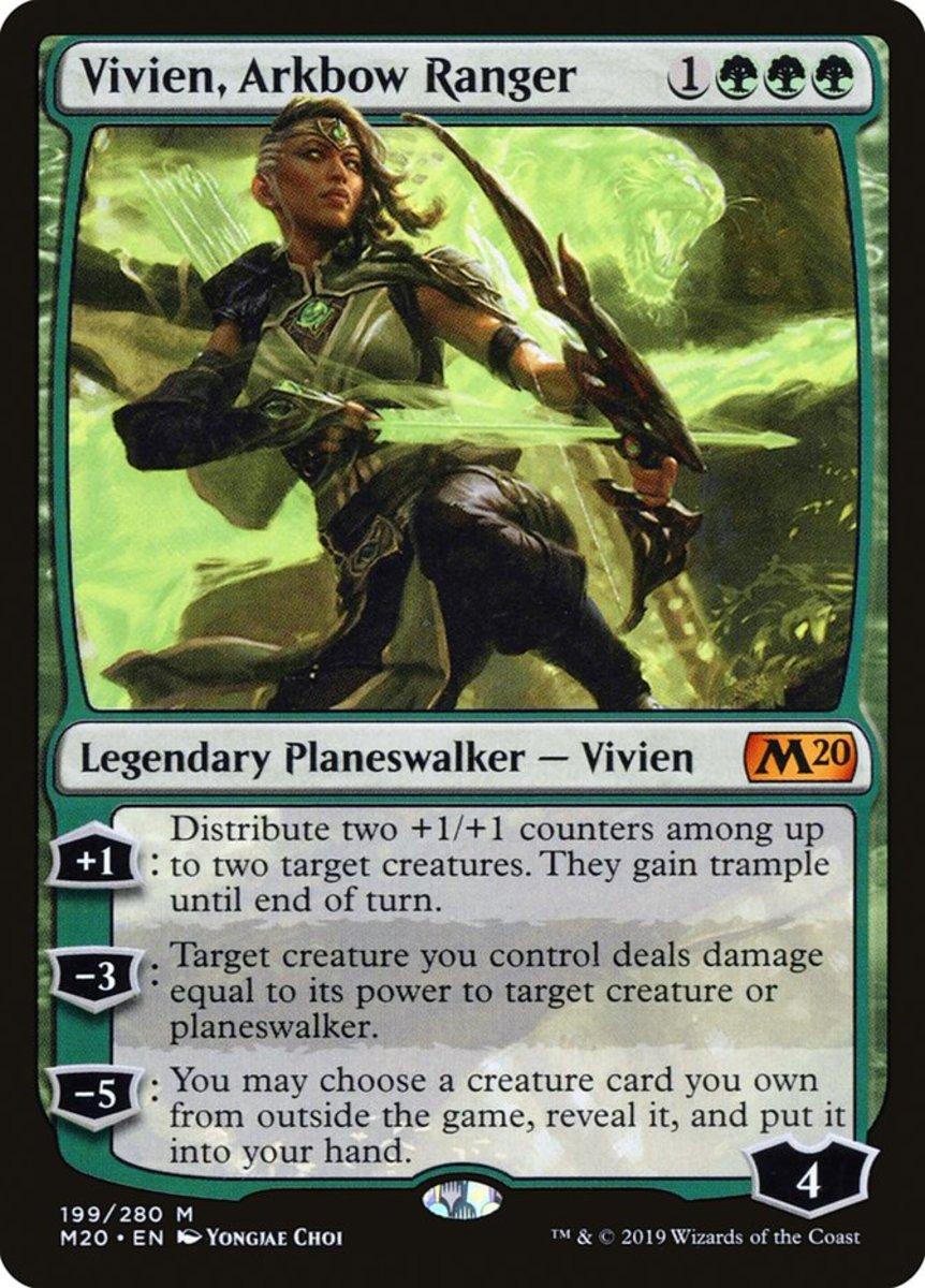 Vivien, Arkbow Ranger mtg