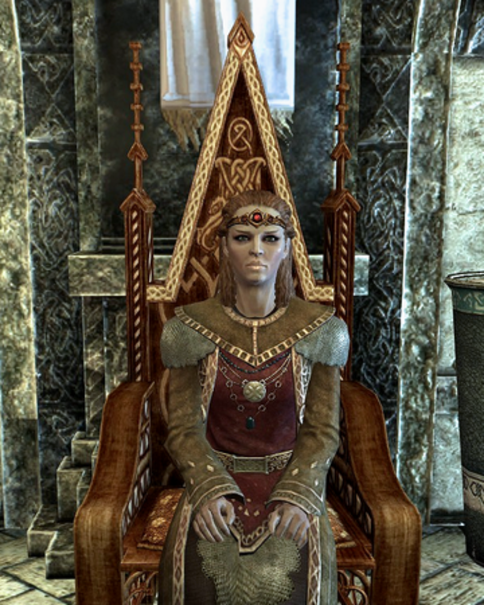 Could you imagine if there was an side quest where you married Elisif the Fair?  That would be interesting...