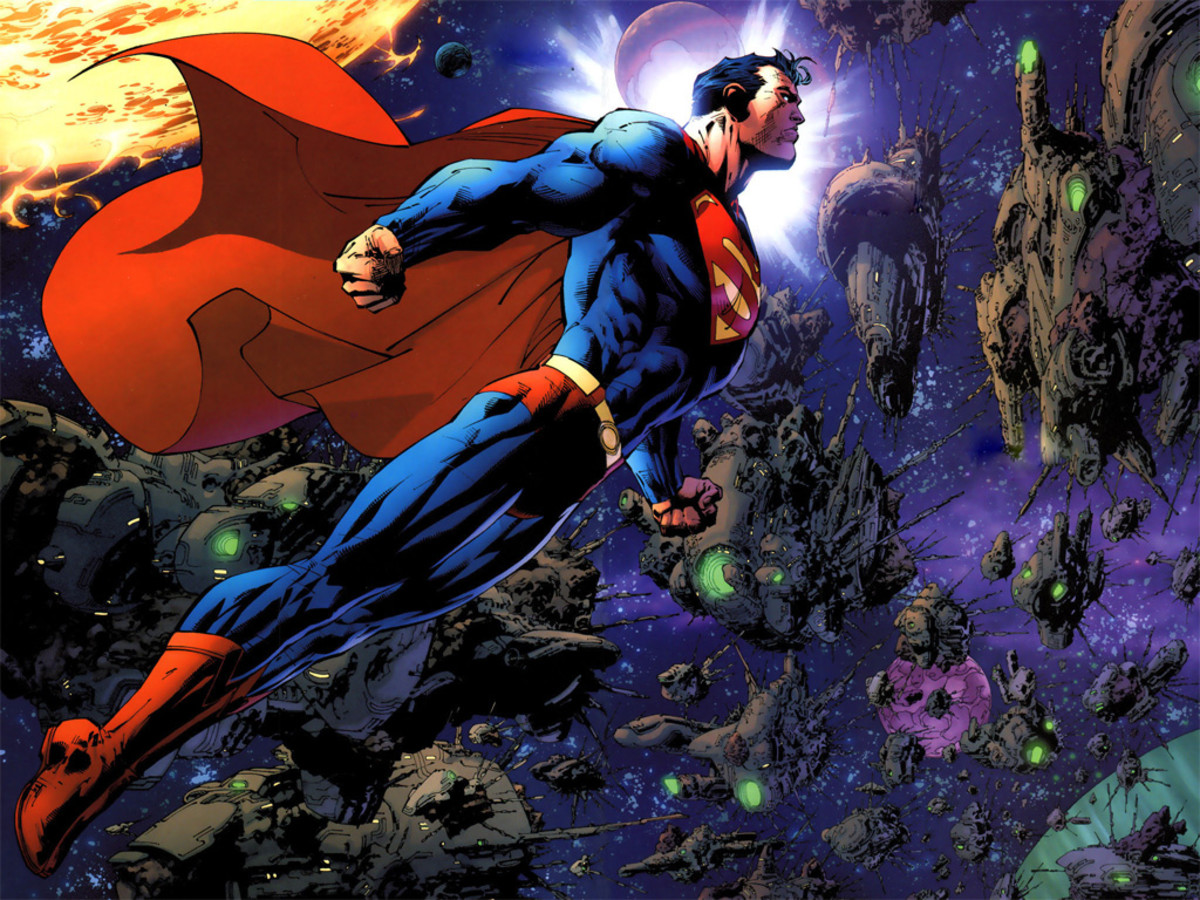 Superman Jim Lee