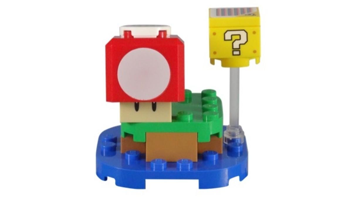 LEGO Super Mario Super Mushroom Surprise 30385 Complete Set
