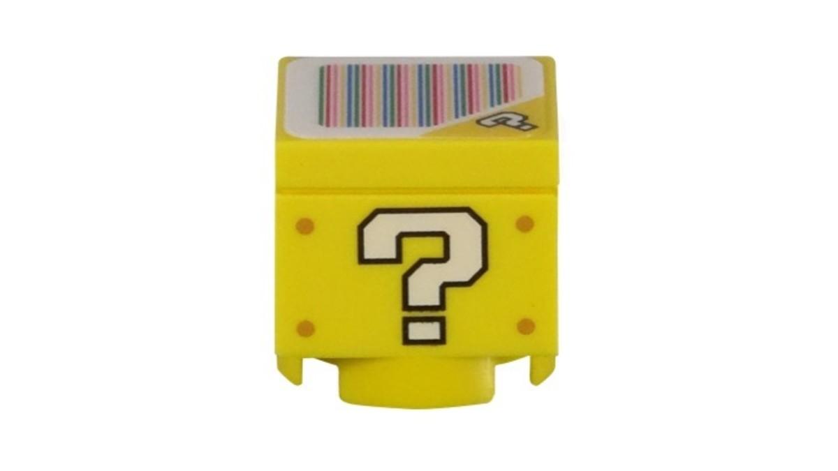 LEGO Super Mario Super Mushroom Surprise 30385 Question Block Model