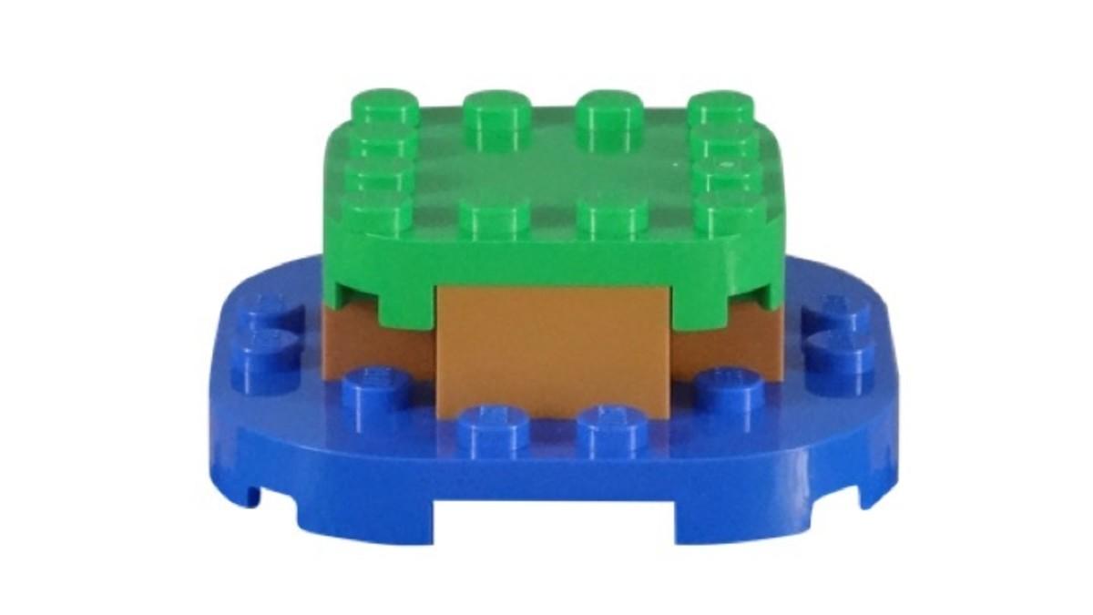 LEGO Super Mario Super Mushroom Surprise 30385 Island Base Model