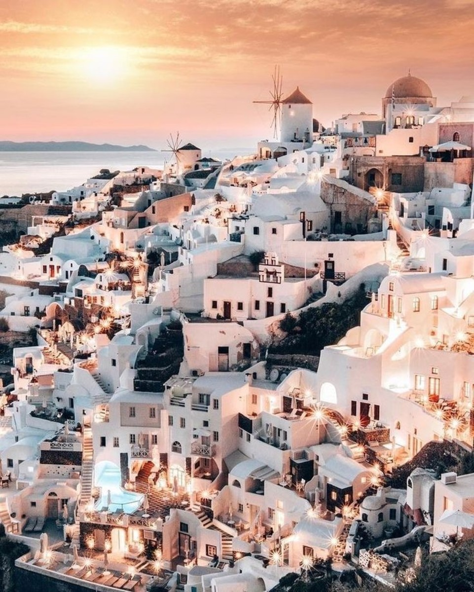 Santorini The Island of  Dreams