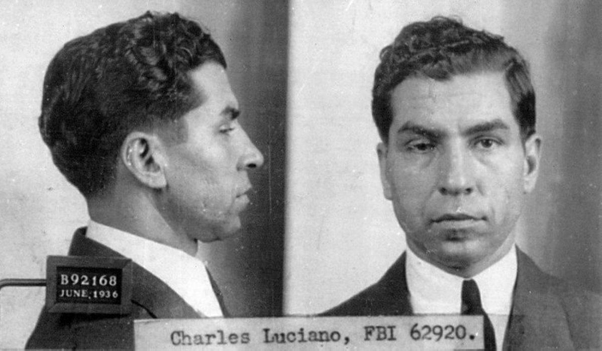 Mafia Crime Boss  Lucky Luciano