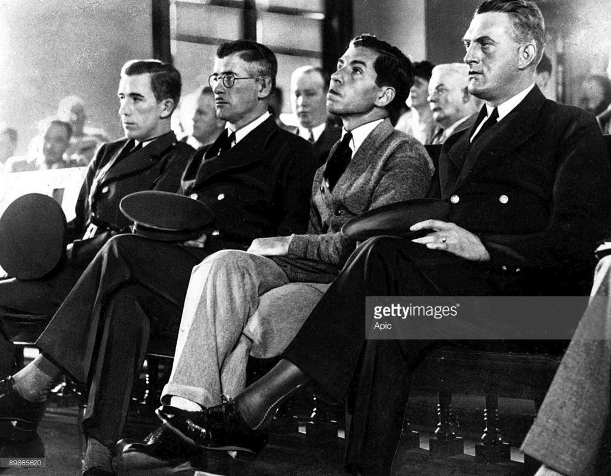 Lucky Luciano at Trial