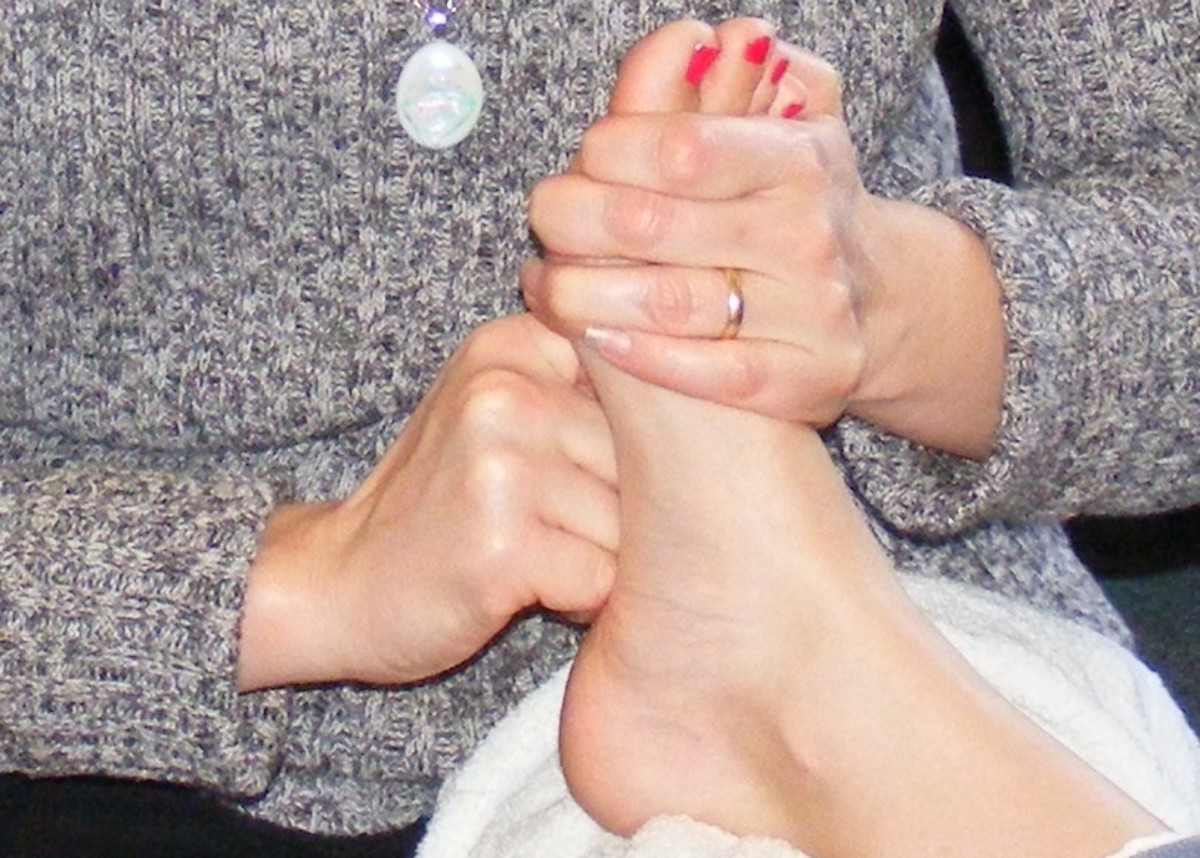 Essential Oils and Foot Zone Therapy