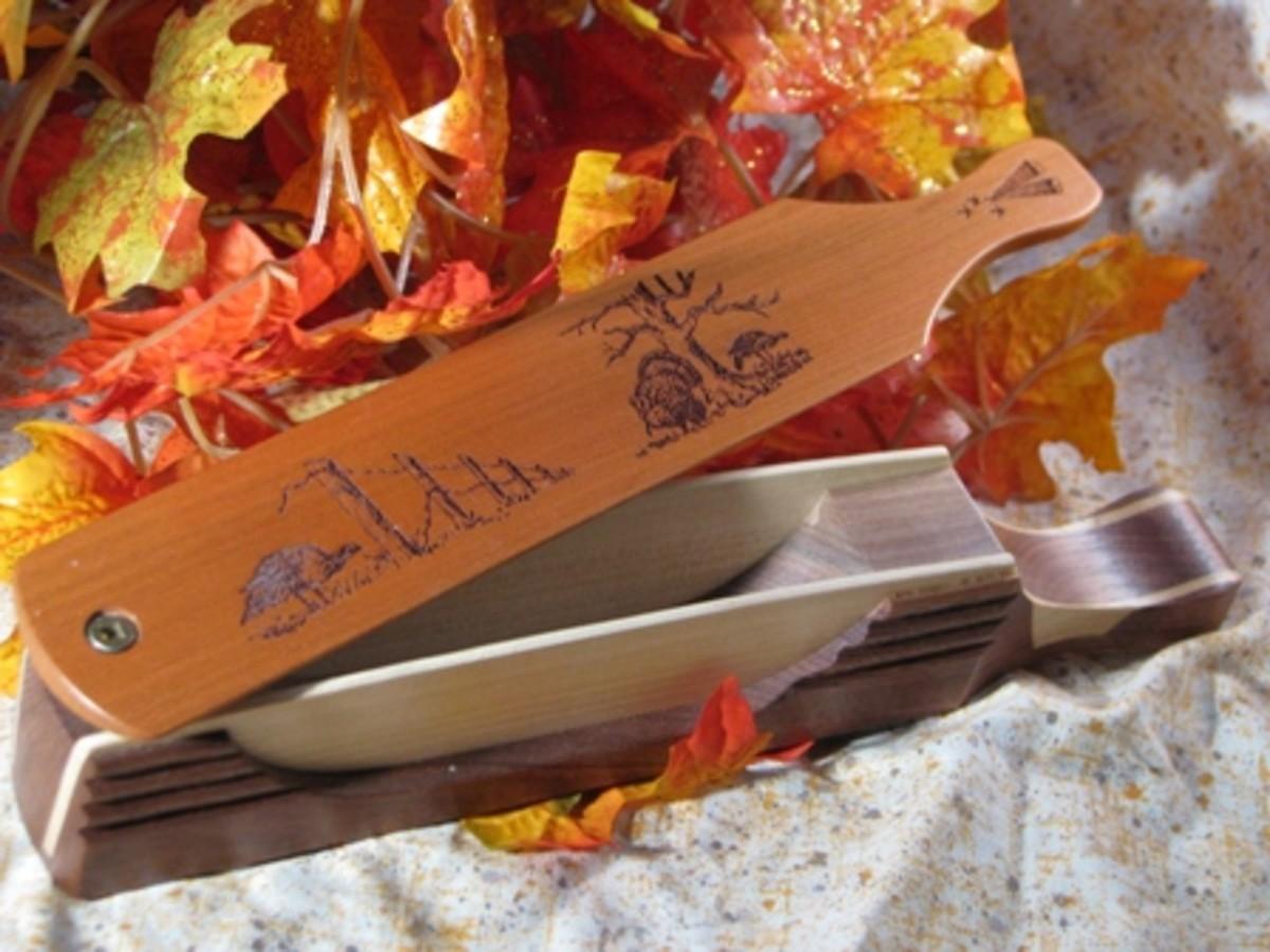 "10"" Boat Paddle Turkey Box Call"