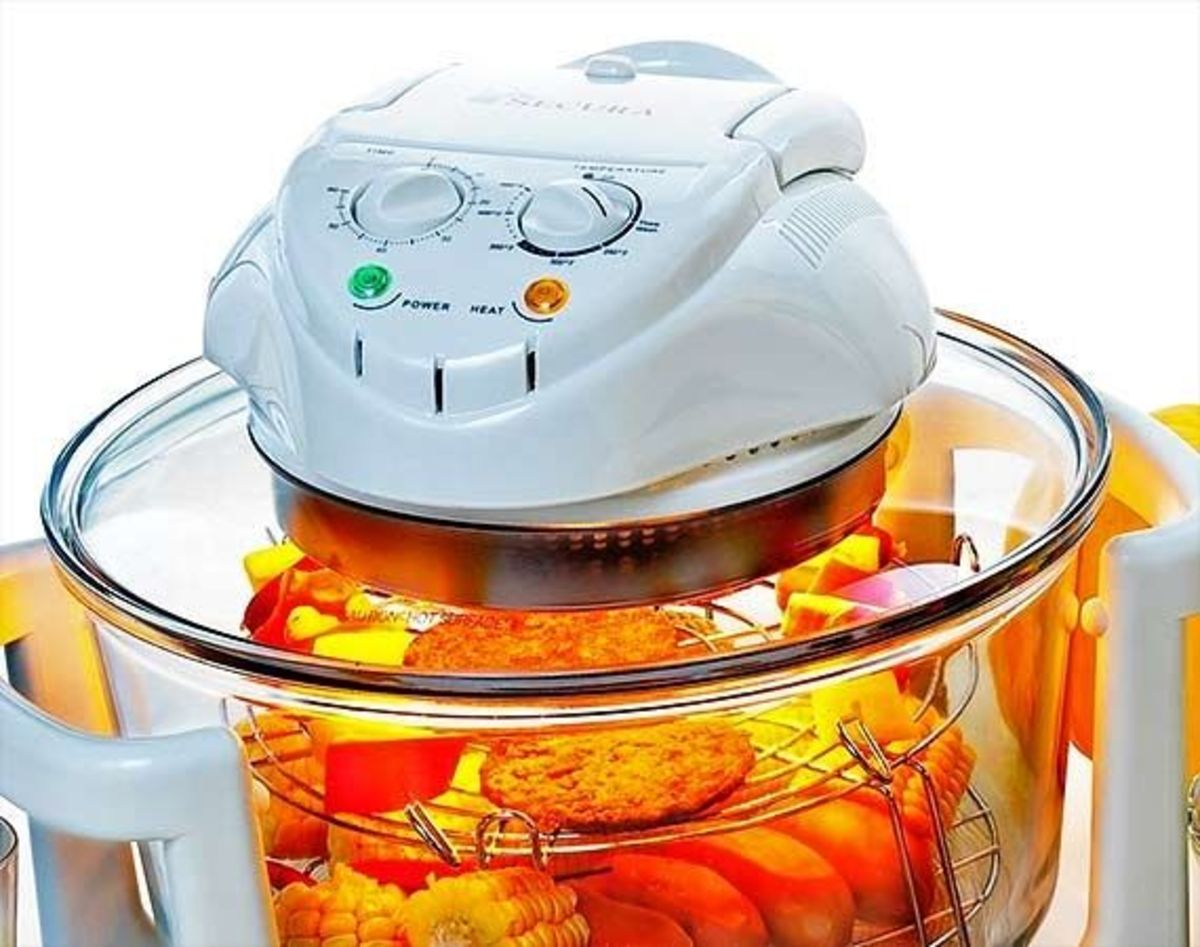 Secura convection halogen oven