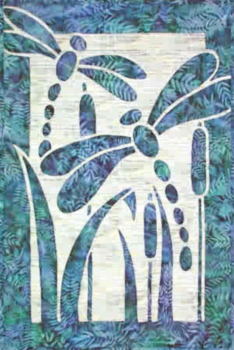 Dancing Dragonflies in this art piece