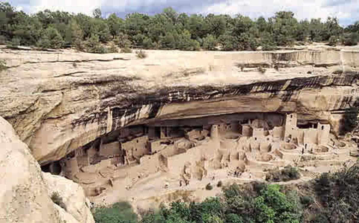 Cliff Palace  mesa verda natonal park colorado