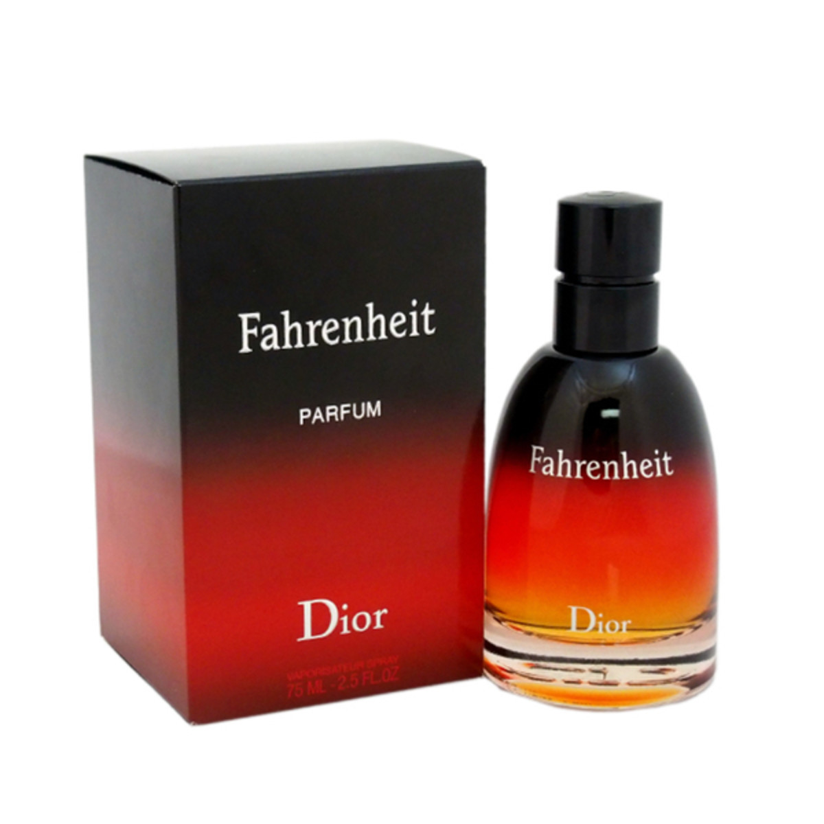 "Christian Dior's Farenheit for men has, ""a blend of pink peppercorn, lemon, lavender, violet leaf, amber, benzoin, vanilla and vetiver."""