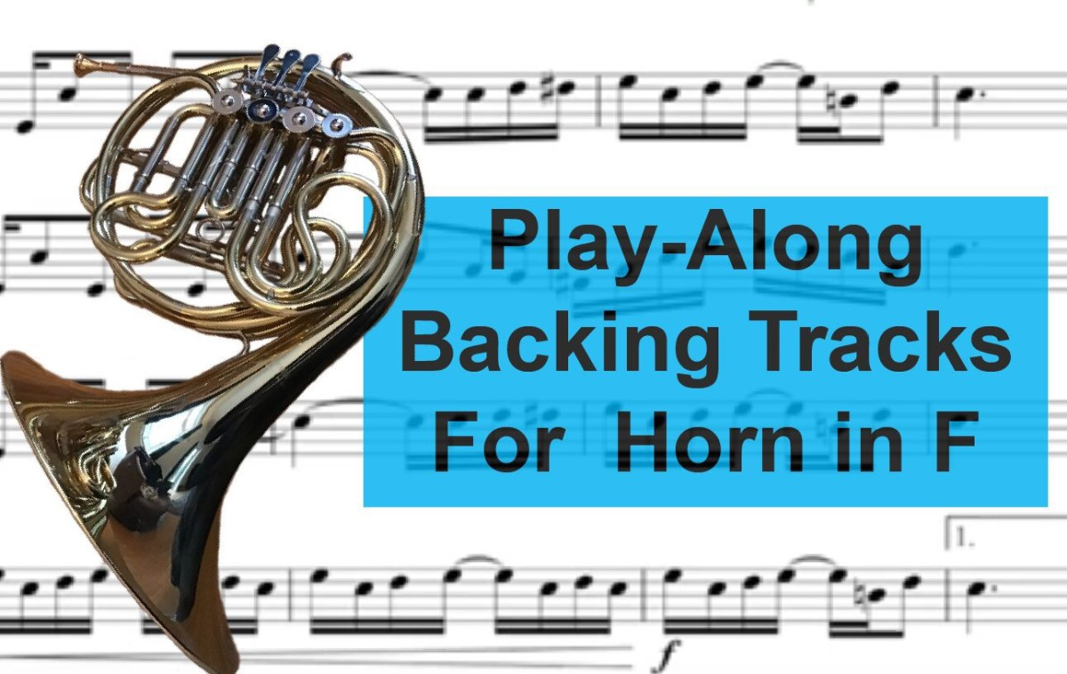 Fun French Horn Backing Tracks and Play-Alongs