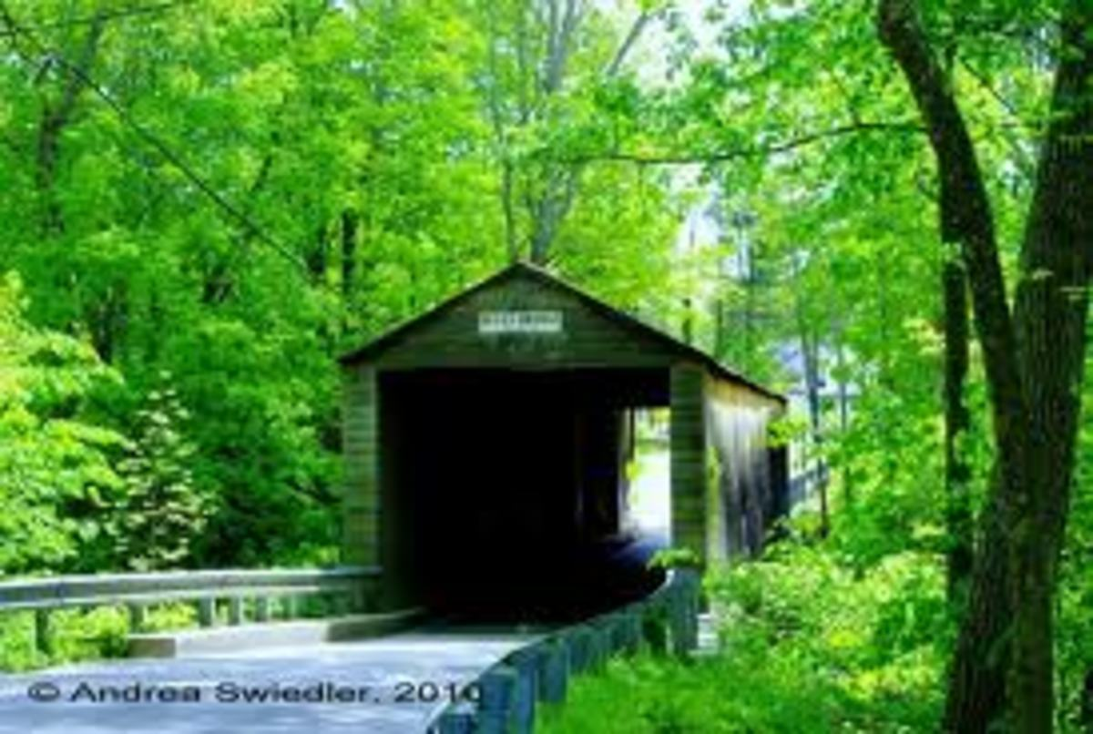 Covered Bridge near Kent, CT