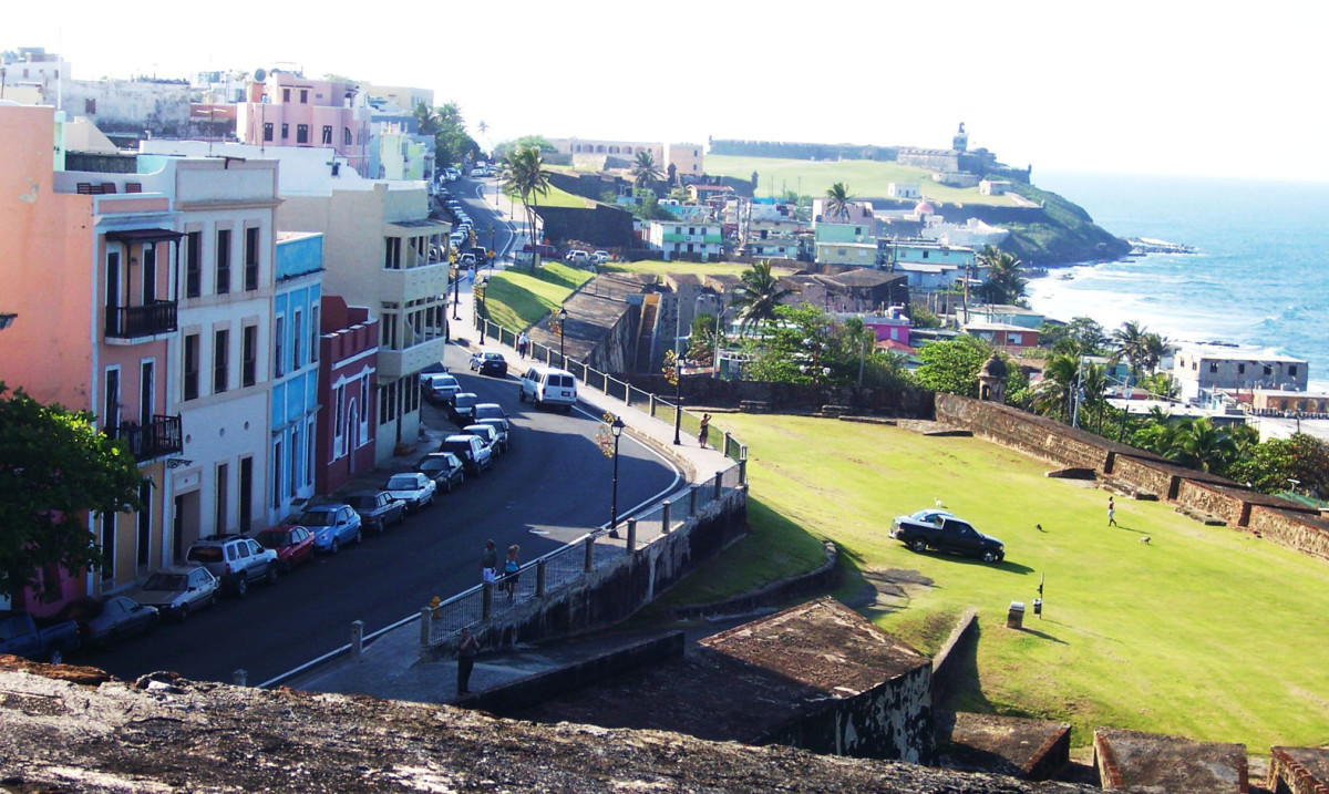 Old San Juan Coast, Puerto Rico