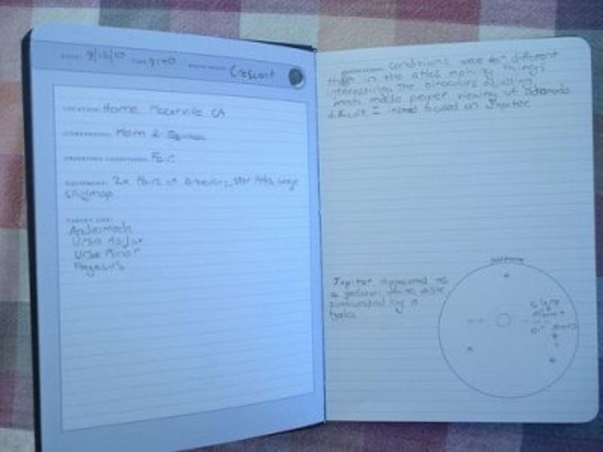Stargazing Journal