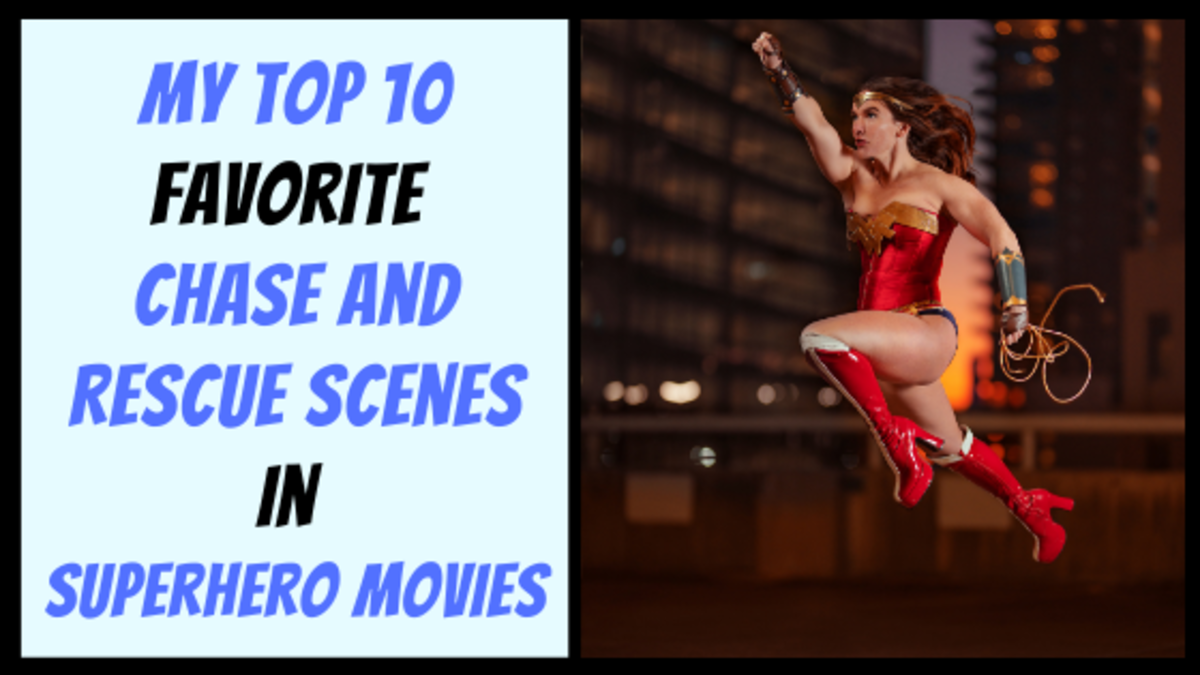 My Top 10 Favorite Chase and Rescue Scenes in Superhero Movies