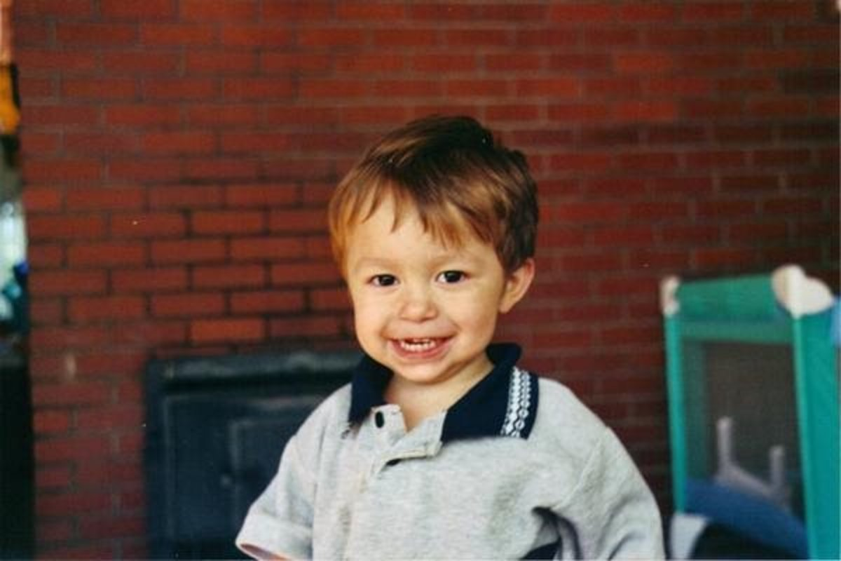 Andrew (2004) 2 years old