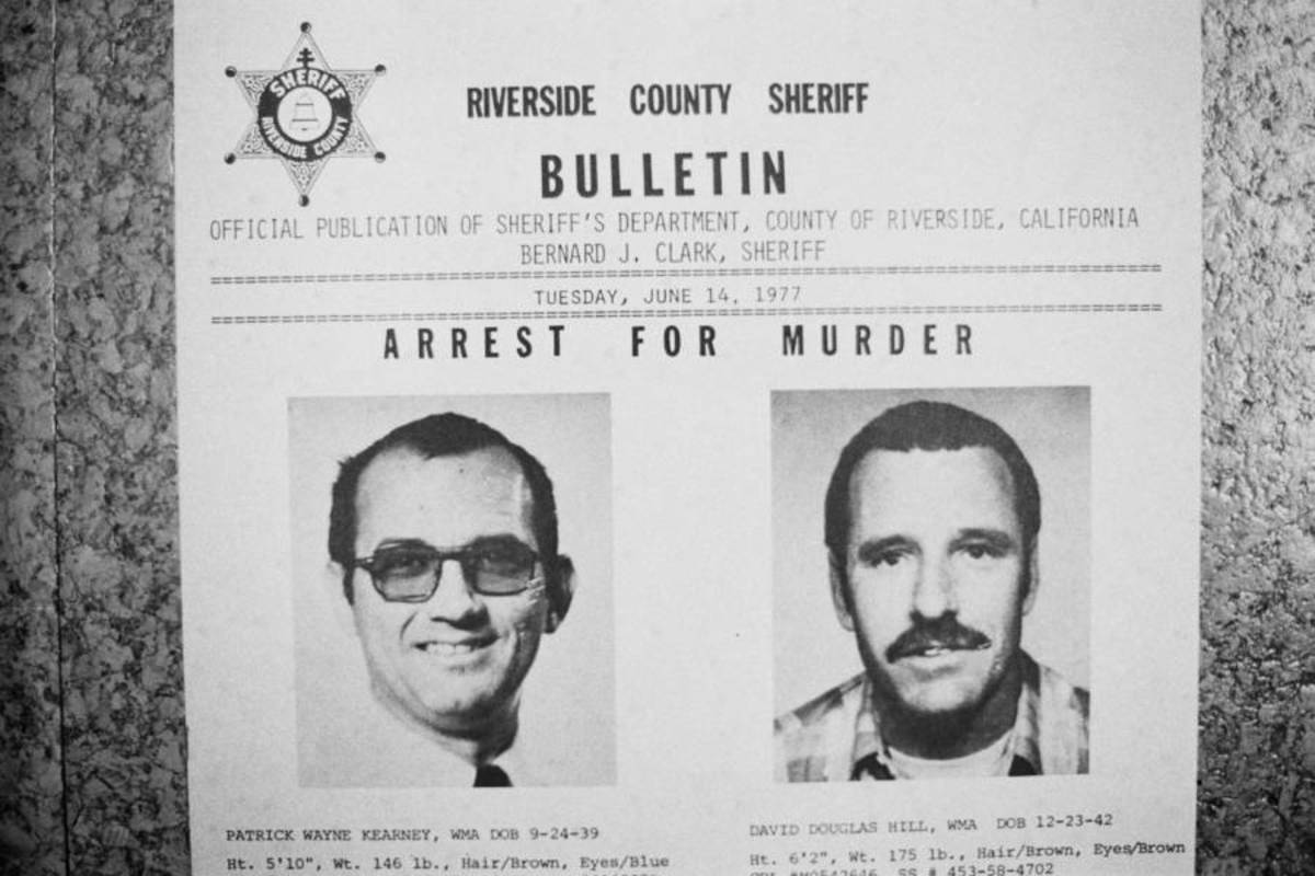 Patrick Kearney wanted Poster.