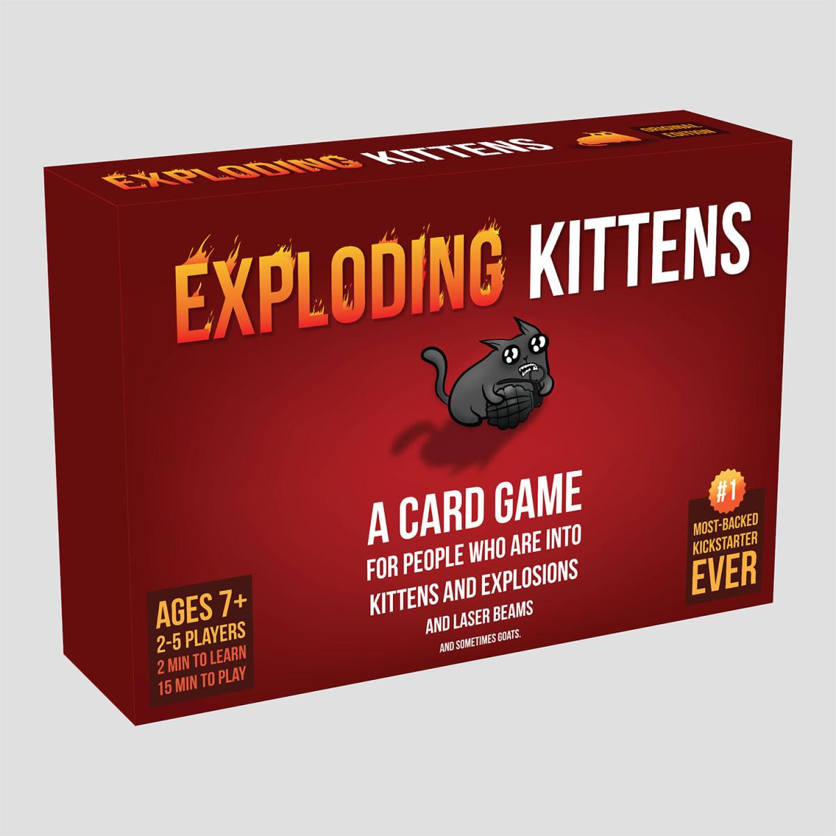 Exploding Kittens box