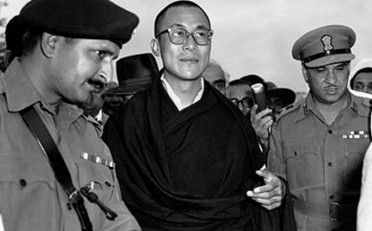 Dalai Lama enters India 1959