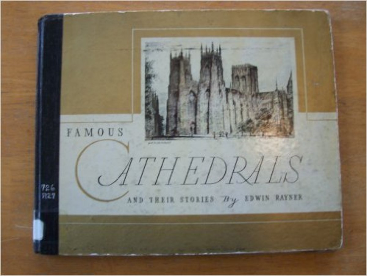 Famous Cathedrals and Their Stories by Edwin Rayner