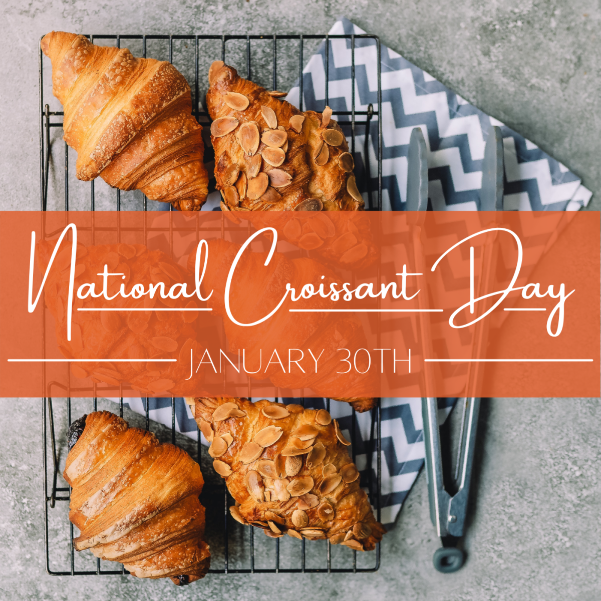 January 30th is National Croissant Day. How will you celebrate?
