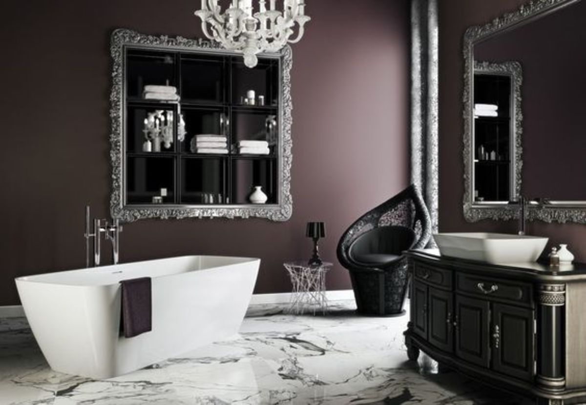 When in doubt about what colors to use in a Scorpio based home, opt for gray or black.