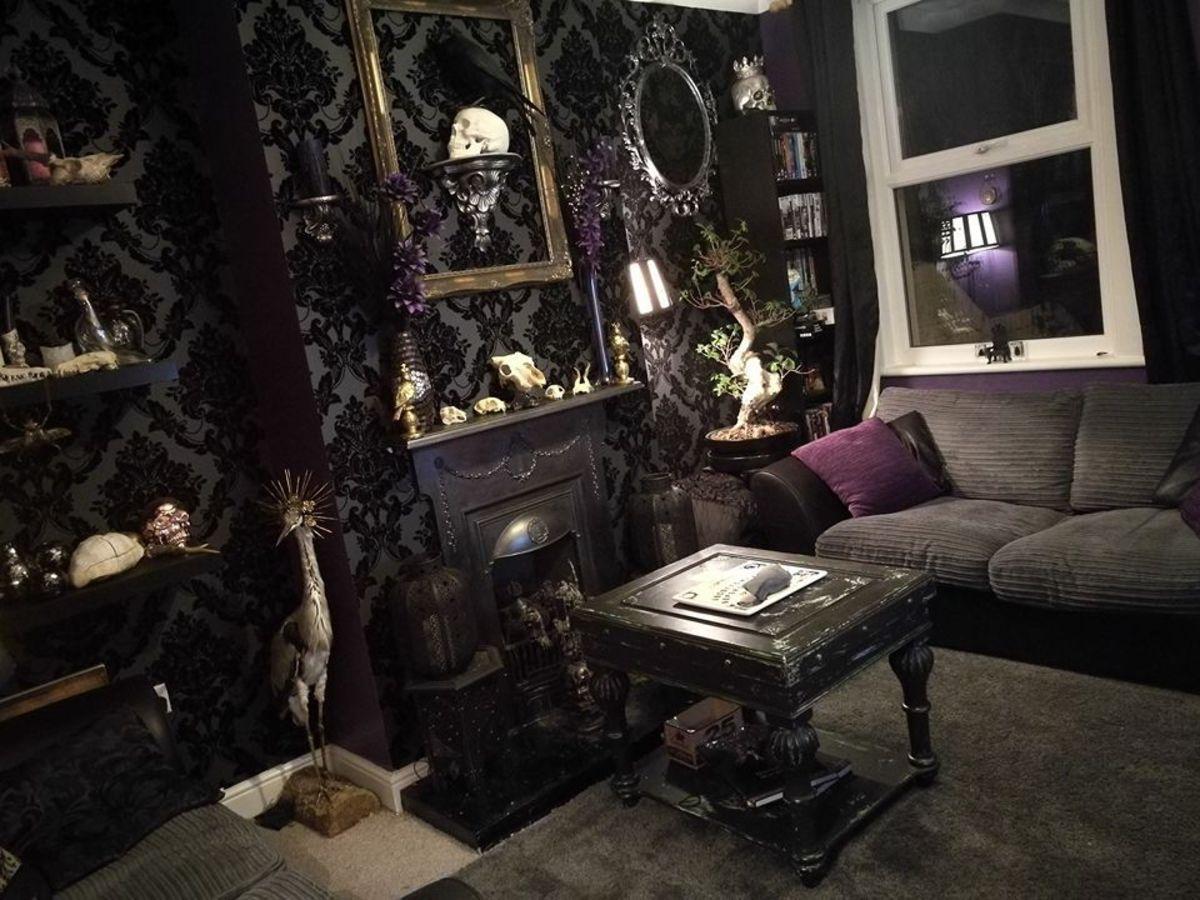 Scorpio decor is dark, moody, serious, and mature.