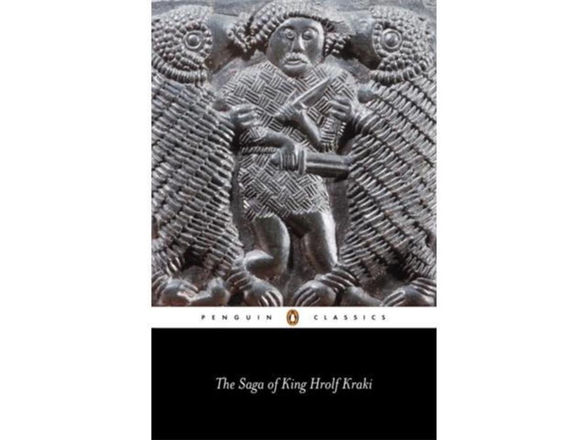 Penguin Classics' SAGA OF KING HROLF KRAKI cover