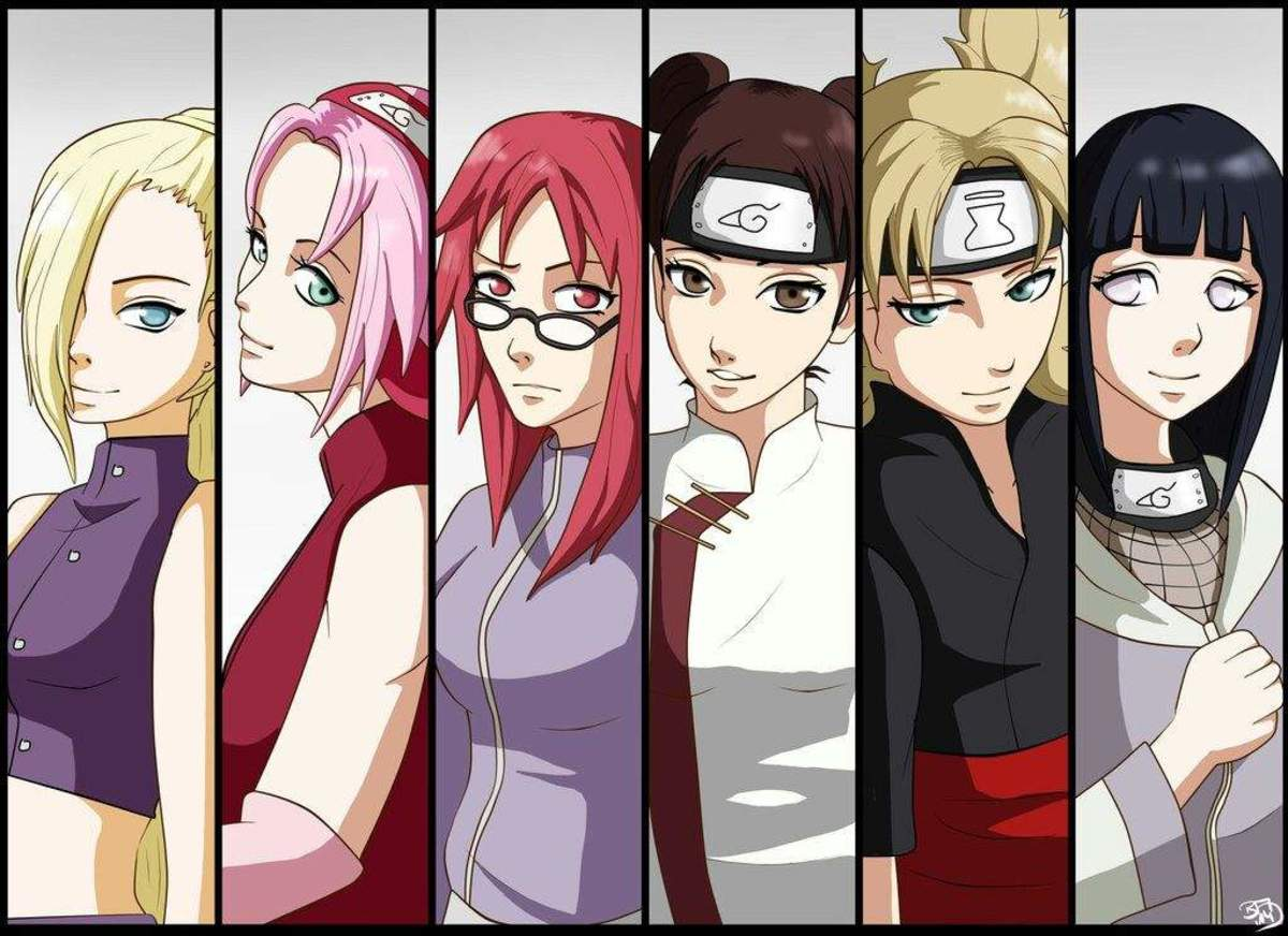 Female protagonists in Naruto