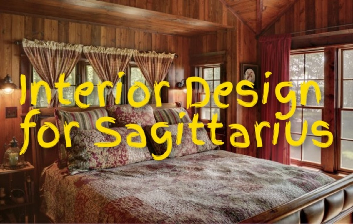 What are the hallmarks of a Sagittarius home?