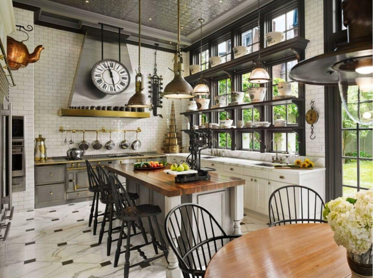 The Sagittarius kitchen should get plenty of lighting. Sagittarius doesn't need everything to match.