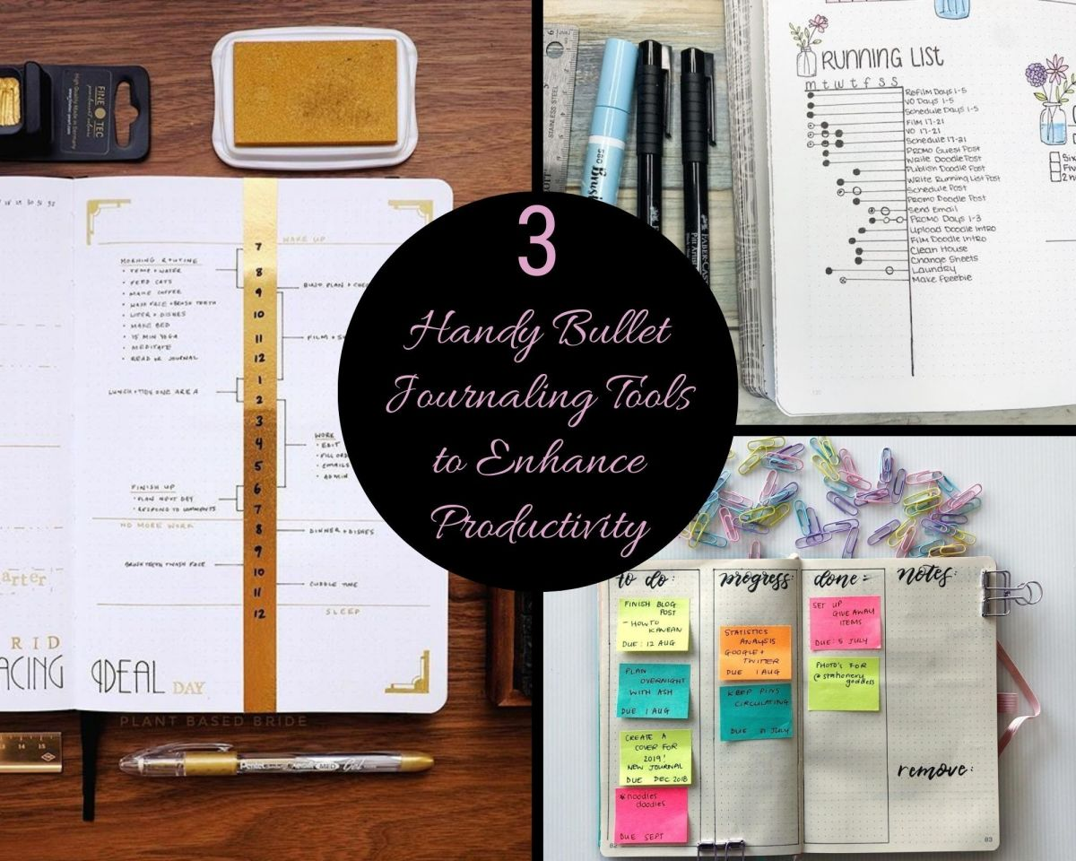 3 Handy Bullet Journaling Tools to Enhance Productivity