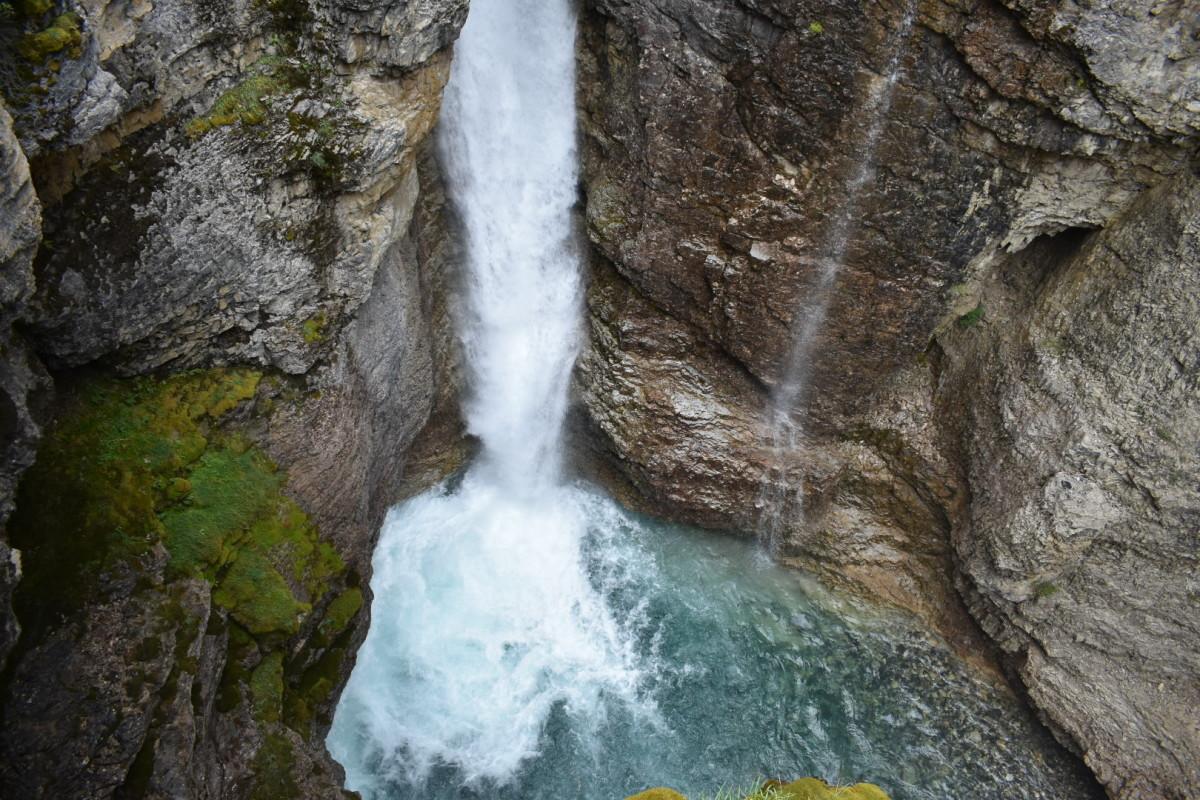 Johnston Canyon in Banff.